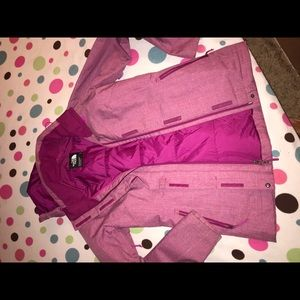 Pink North Face Jacket and fleece